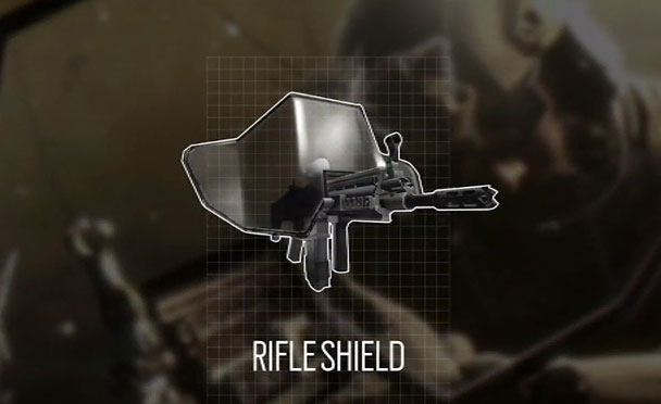 Rifle-shield