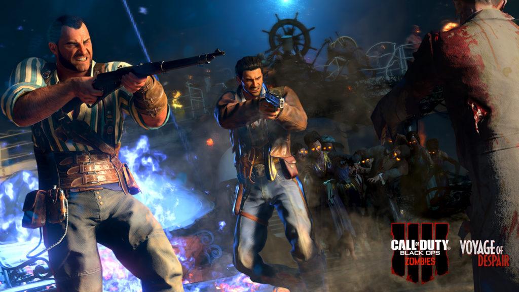 Black Ops 4 Zombies Voyage of Despair